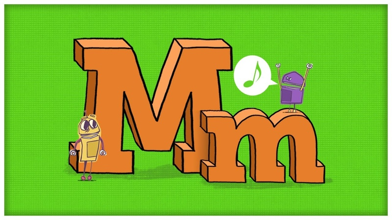 ABC Song The Letter M, The Mighty M by StoryBots   Netflix Jr