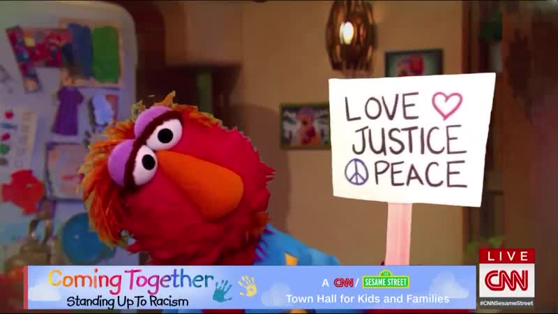 Elmo 's dad Louie explains why people are protesting