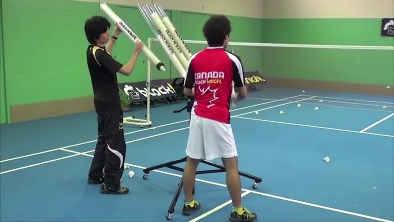 SPORT-SMASH | Badminton Machine Training | indonesia mesti punya banyak nih...