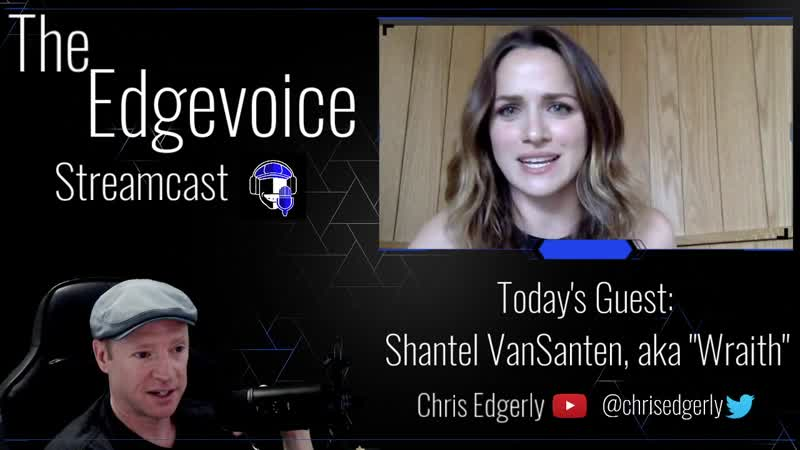 CHRIS EDGERLY INTERVIEWS SHANTEL VANSANTEN Highlights