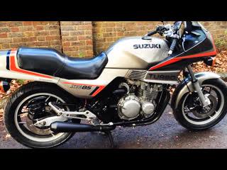 Мотоцикл suzuki xn85 turbo, 1983 года