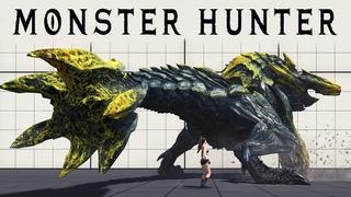 New Monster Size Comparison | 5th Gen Monster Hunter