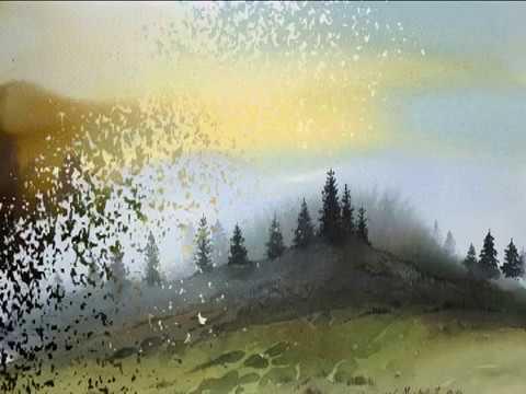 Туманные акварели сербского художника Бронислава Марковича