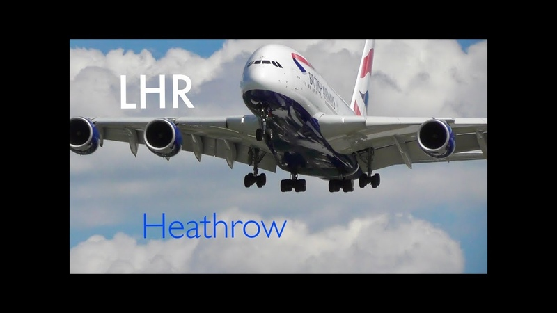 *Afternoon Landings 2 GO-AROUNDS* RW27L, London Heathrow Airport (21/05/19)