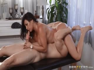 Pornomix / Julianna Vega - Ass Worship Ass Big Tits Worship, Brunette, (POV), Enhanced, Latina, MILF Massage Mom Oil Tattoo
