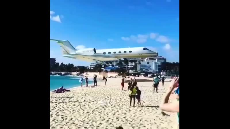 St Maarten Airport ✈️ Да-да тот самый ☺