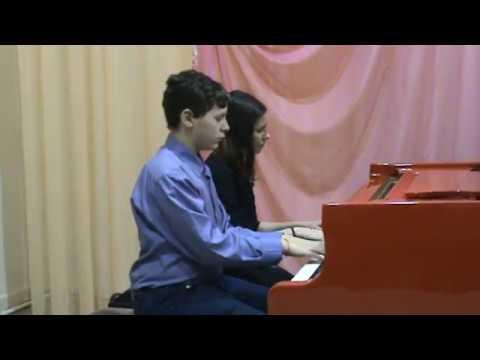 Фортепианный ансамбль Анастасия и Никита Андреевы Вальс из к ф Петербургские тайны