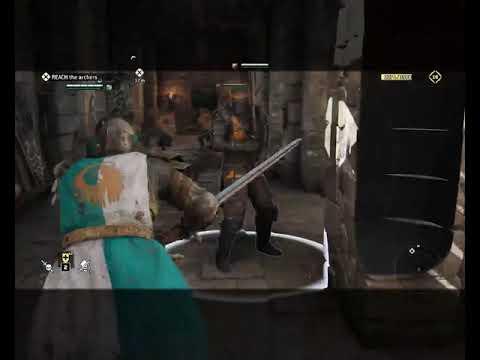 For Honor gerçekci zorlukta hikaye modu (Warlords and Cowards 1.1)