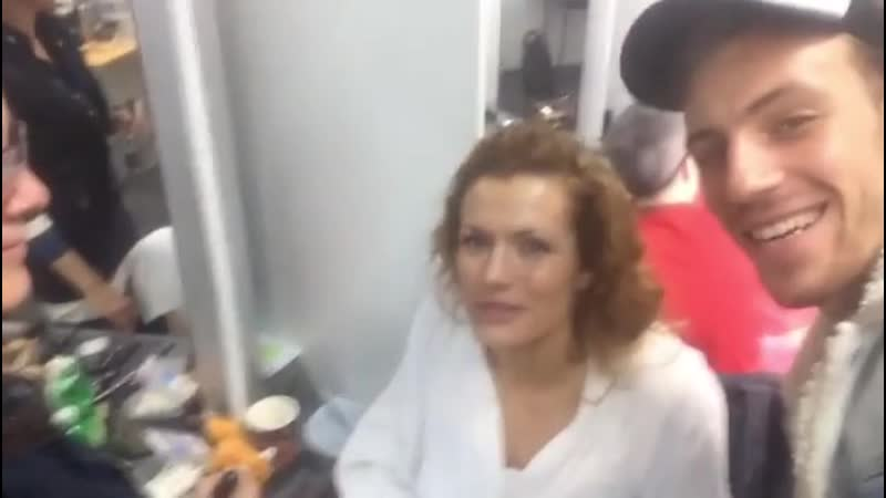 Габриэла Коукалова готовится к шоу танцев (16.11.2019)