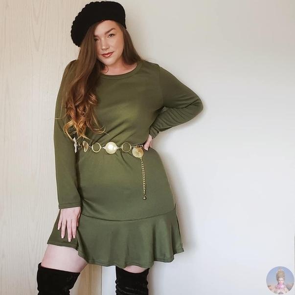 Инста-блогер, плюс-сайз модель Alysha
