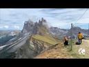 Seceda Val Gardena Dolomites Alps Ortisei Sud Tirol Italy