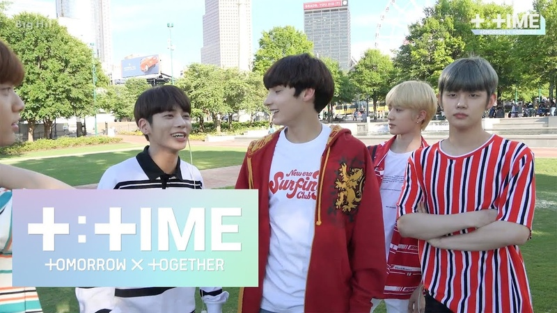 [T:TIME] Who is the catchball king? - TXT (투모로우바이투게더)
