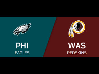 Nfl 2019-2020 / week 15 / philadelphia eagles washington redskins / en