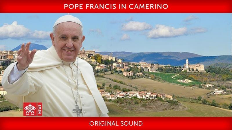 Pope Francis in Camerino 2019 06 16