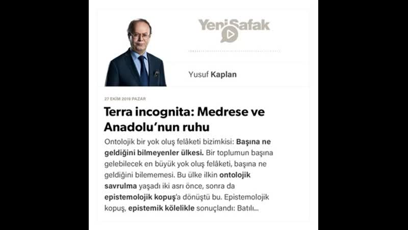 046. Yusuf Kaplan - Terra incognita Medrese ve Anadolu'nun ruhu - 27.10.2019.mp4