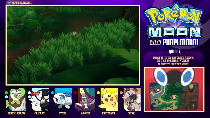 [PurpleRodri] Let's Play Pokemon: Sun and Moon - Part 13 - Captain Mallow's Trial!