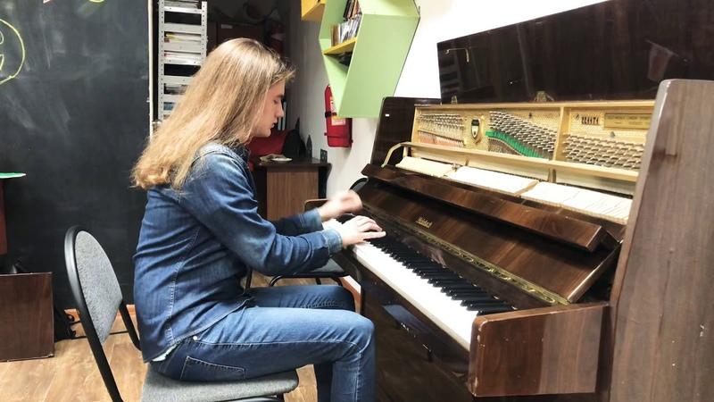 Mark Kovalchuk plays Elton John - Believe piano cover/improvisation