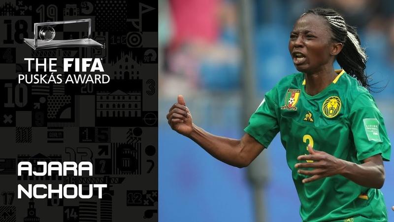 FIFA PUSKAS AWARD 2019 NOMINEE Ajara Nchout