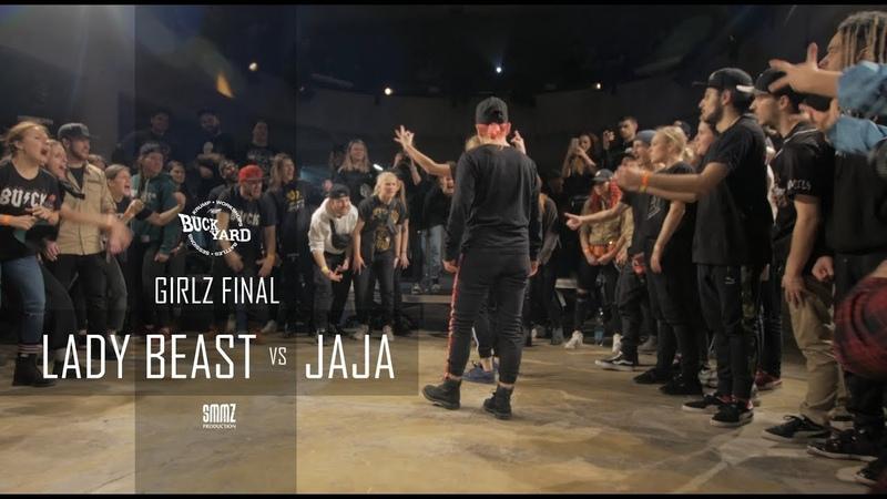 LADY BEAST vs JAJA || GIRLS FINAL || BUCKYARD vol. 3