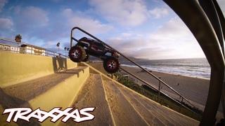 Stair Surfing | Traxxas Summit