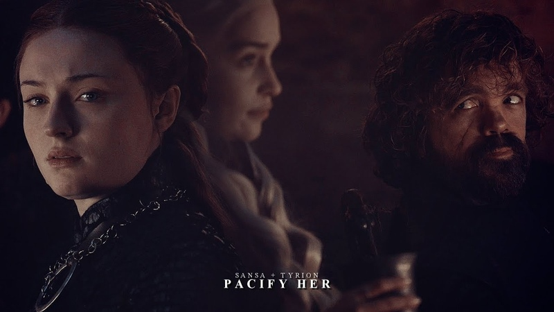 Sansa  tyrion   daenerys [pacify her] 8x04