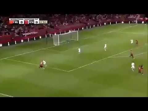 Manchester united and milan international champions league goal rashford