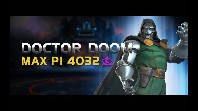 Doctor Doom Доктор Дум Marvel Contest of Champions