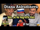 Singer Reacts Diana Ankudinova Non Je Ne Regrette Rien