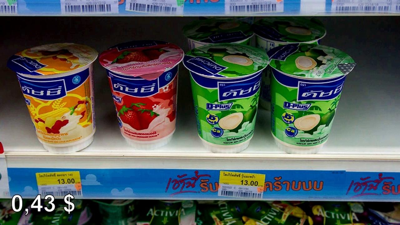 Цены на продукты и еду в Таиланде.  2RqLDVrps2E