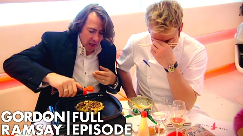 Jonathan Ross Attempts To Cook For Gordon Ramsay The F Word FULL EPISODE