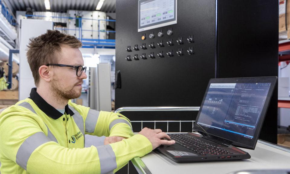 Автоматизированная система управления энергосбережением Boliden Electro