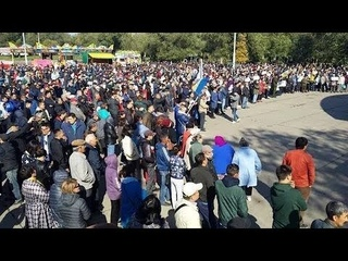 Протесты в Калмыкии. Элиста. #ВОИНСВЕТА