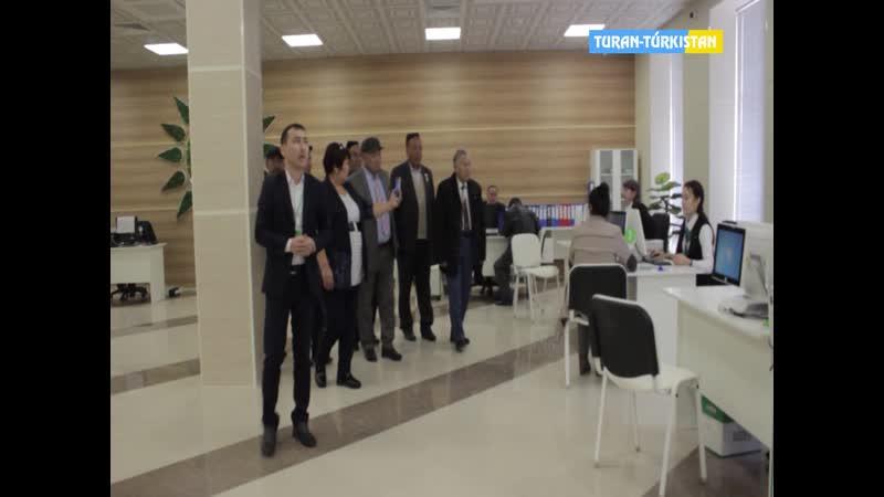 Тұран Түркістан Павлодардан келген қонақтар Халыққа Қызмет Көрсету Орталығында болды