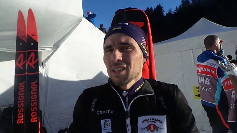 Анси 2019 Артем Прима о спринтерской гонке и неуверености в стрельбе