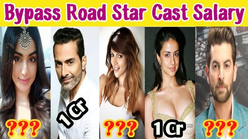 Bypass Road Movie Star Cast Salary | Adah Sharma | Neil Nitin Mukesh | Shama Sikander | Gul Panag