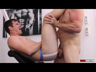 Mickey Knox gets his Ass Pounded in a Gym by Pierce Paris - free gay video by GayZer.club