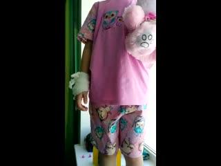 """Отзыв о пижаме """"Совы"""" с вышивкой"""