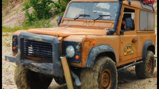 How to break a bumper Land Rover Defender RC Car 4x4