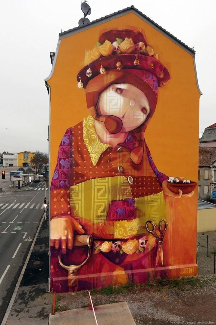 Street art in France, in the U.