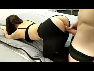 STEP BROTHER RIPS SISTERS PANTS AND FUCKS HER HARD THROUGH HER LEGGINGS