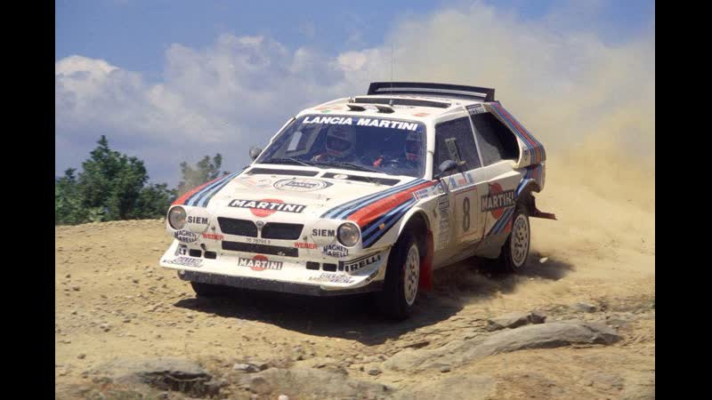 Lancia Delta S4 (1985 450bhp, Argentina) Group B test for the best time,