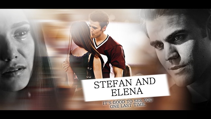 ❖ Stefan Elena It's good to see you one last time 8x16