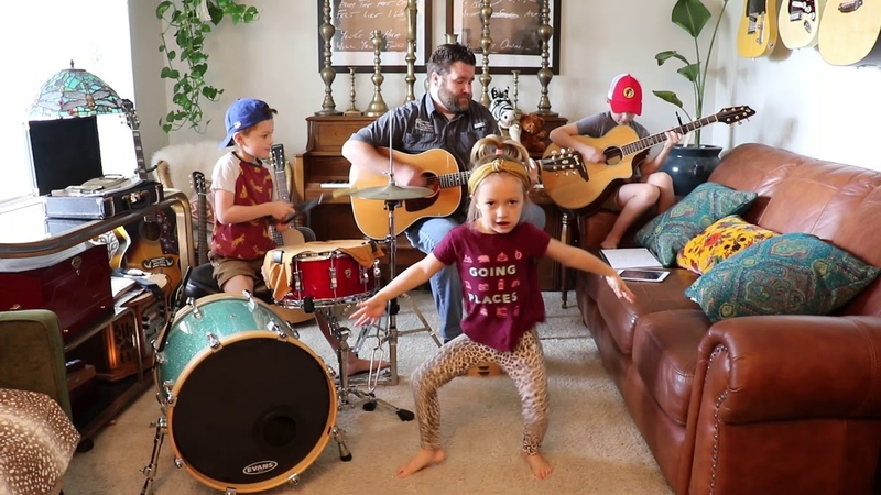 Colt Clark and the Quarantine Kids play Great Balls of Fire