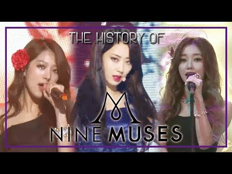 NINE MUSES Special ★Since Debut to 'Remember'★ 49m Stage Compilation