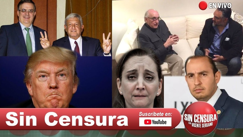 EN VIVO el Doctor Jalife para hablar de AMLO y Trump El PAN y el PRI chillan 6 4 2019
