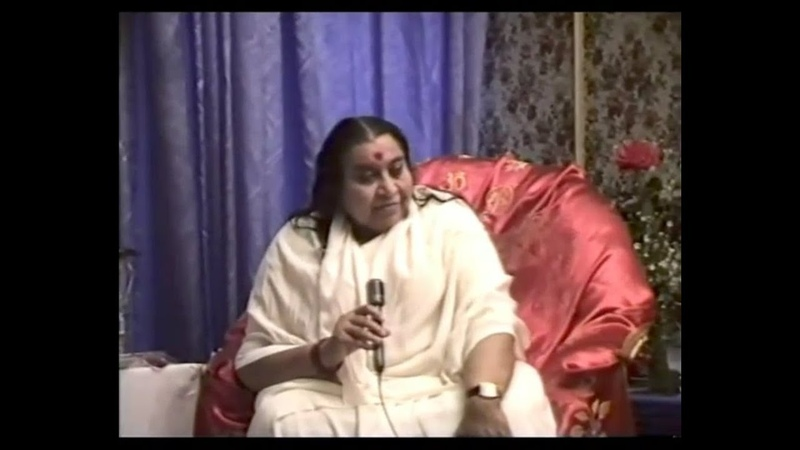 1993-0802 Shri Mataji, TV Interview, Saint Petersburg, Russia