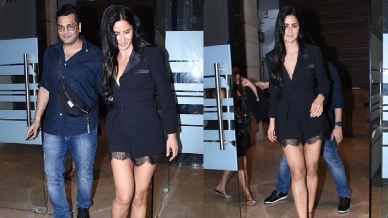 Katrina Kaif SLAYS In Short Dress At Friend's Party