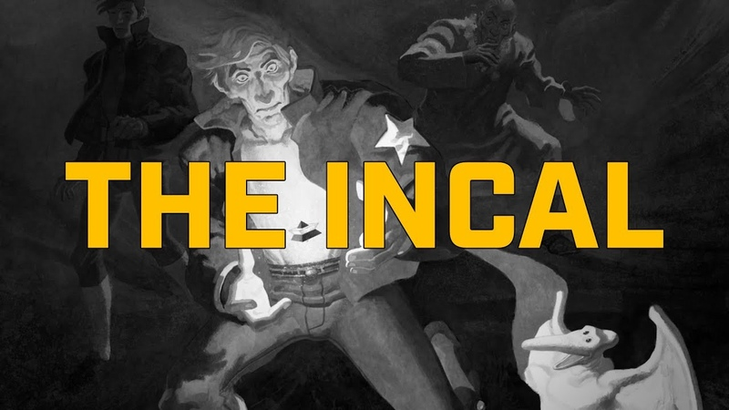 Обзор The Incal Oversized Deluxe Deconstructing The Incal