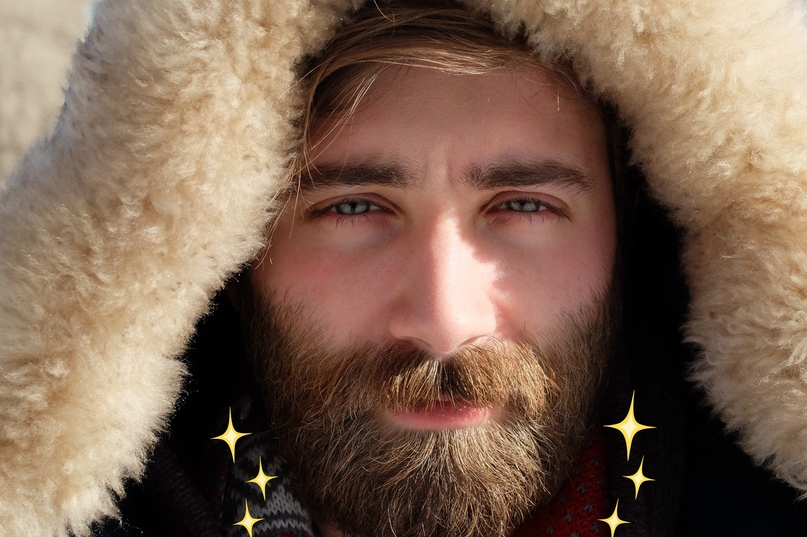 Борода зимой, изображение №4