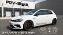 POV-Style: 319 km h = 199 mph im 2019 HGP Golf 7 R [483 PS OPF Version] | inkl. 0-200 km h